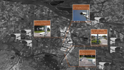 ANPR based perimeter guarding at industrial areas