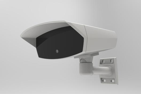 Gatekeeper embedded ANPR camera front view