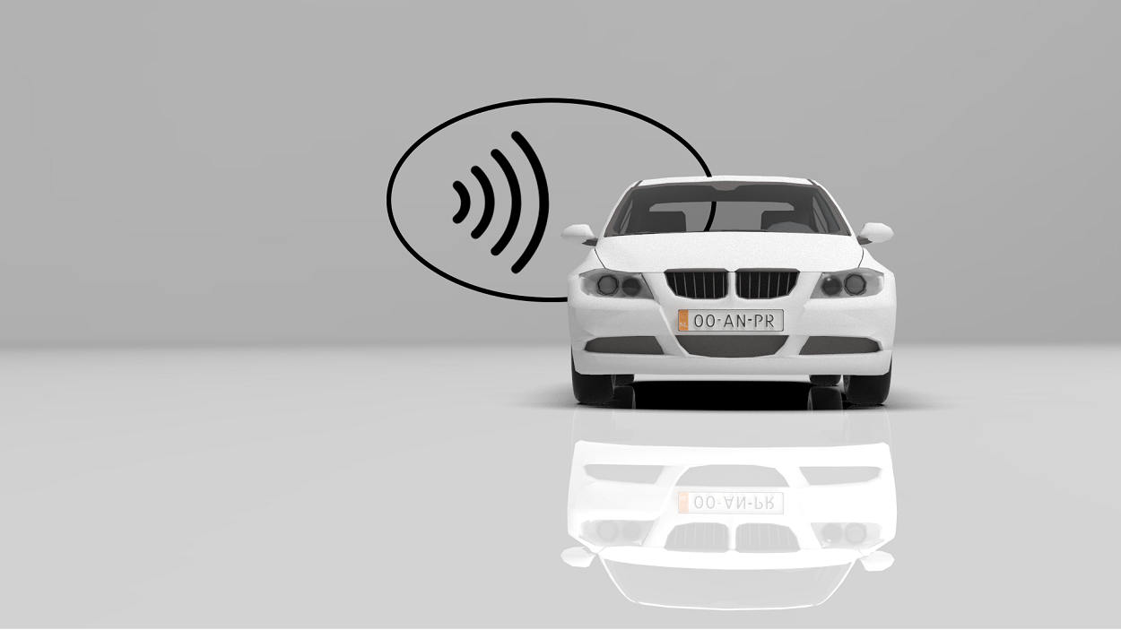 Contatcless payment based on ANPR