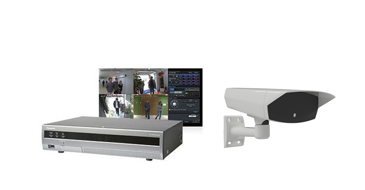 Panasonic NVR recording and alarm notifications of ANPR events